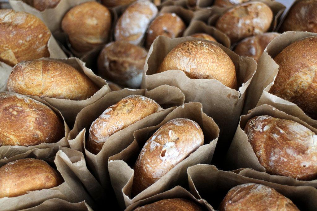 Verpakking brood