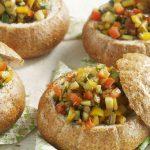 Broodje zomerse groenteverrassing