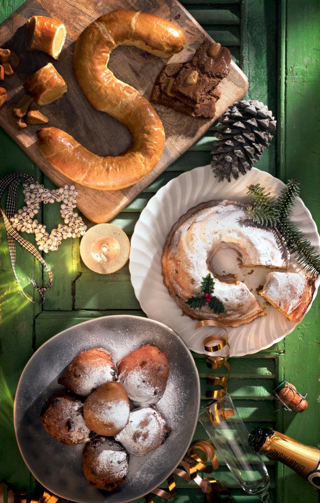 Stichting Ambachtelijke Bakkerij Feestdagen amandelstaaf tulband oliebollen